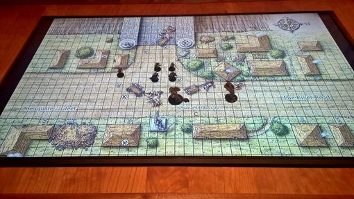 Custom Made Dining Room Gaming Table