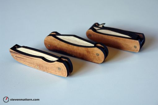 Custom Made Wooden Toy Knives