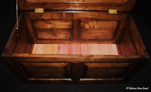 Custom Made (One Available Buy Now) Stained Maple - Hope Chest - Trunk - Toy Box - Toy Chest - Handmade