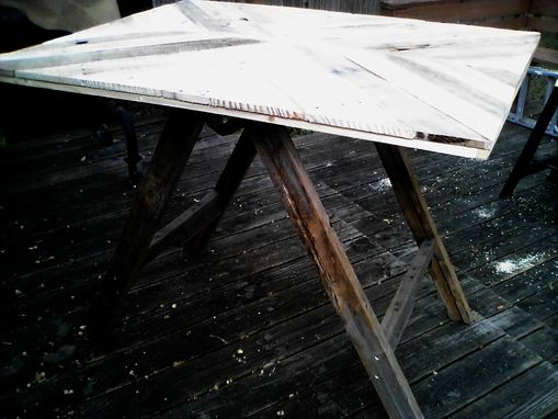 Custom Made Distressed & Rustic Dining Table