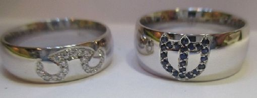 Custom Made Choose A Symbol And We Will Make It Happen In Diamonds Or Sapphires.