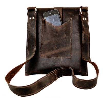 Custom Made Ayre Leather Messenger Bag