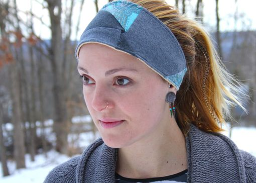 Custom Made Cross-Eyed Headband/Dreadwrap - One Size