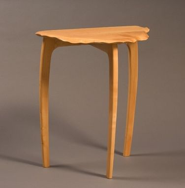 Custom Made Hand Carved Swiss Pear Table