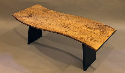 Custom Made Custom Made Coffee Table In Tiger Maple