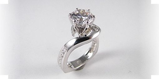 "Custom Made Engagement Ring ""Princess Dream''"