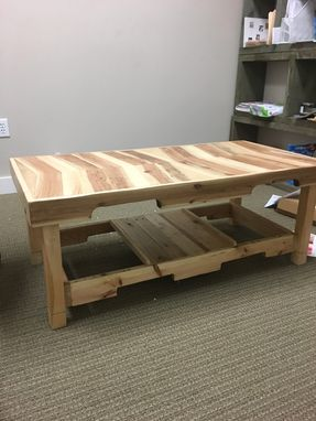 Custom Made Rustic Arrow Coffee Table