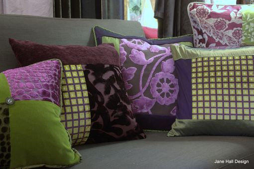 Custom Made Custom Made Pillows Made From European Fabric Collections
