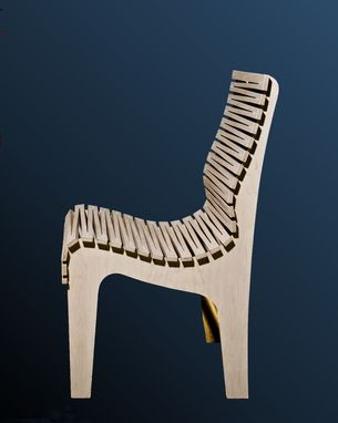 Custom Made Zig-Zag Chair