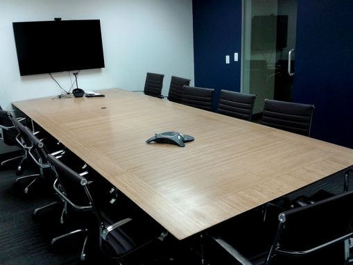 Custom Made Bamboo Conference Table