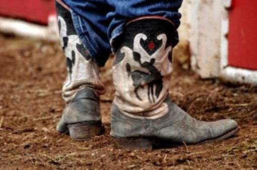 "Custom Made Fine Art Photography ""Boots''"