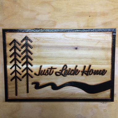 Custom Made Modern Cabin Signs