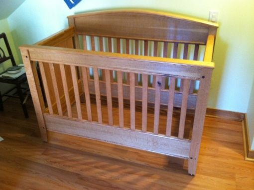 Custom Made 3in1 Crib/Toddle Bed/Double Bed