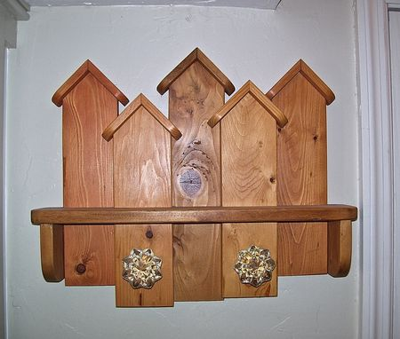 Custom Made Coat / Towel Rack (Reclaimed Lumber And Hardware)