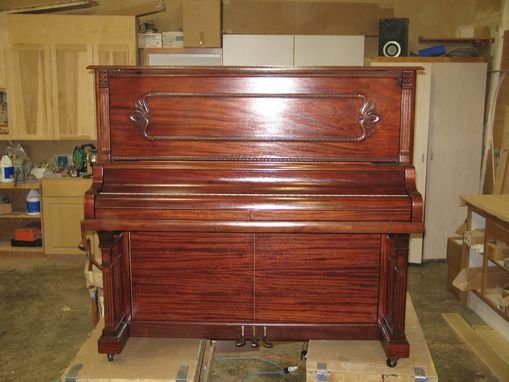 custom made piano desk by cope pattern. Black Bedroom Furniture Sets. Home Design Ideas