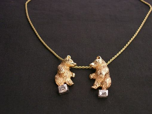 Custom Made Dancing Bears Pendant