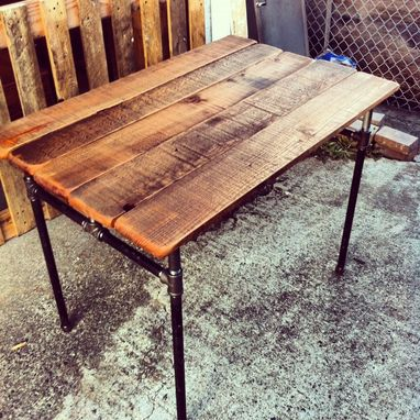 Custom Made Custom Sized Industrial Pipe Desk