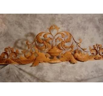 Custom Made Decorative Cresting Rail