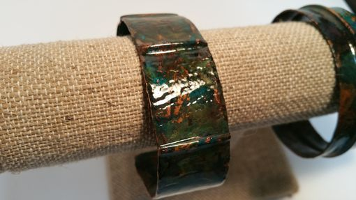 Custom Made Copper Cuff Bracelets