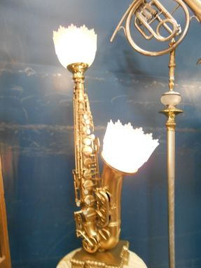 Custom Made Table Lamps, Desk Lamps And Sconces, From Musical Instrument Wall