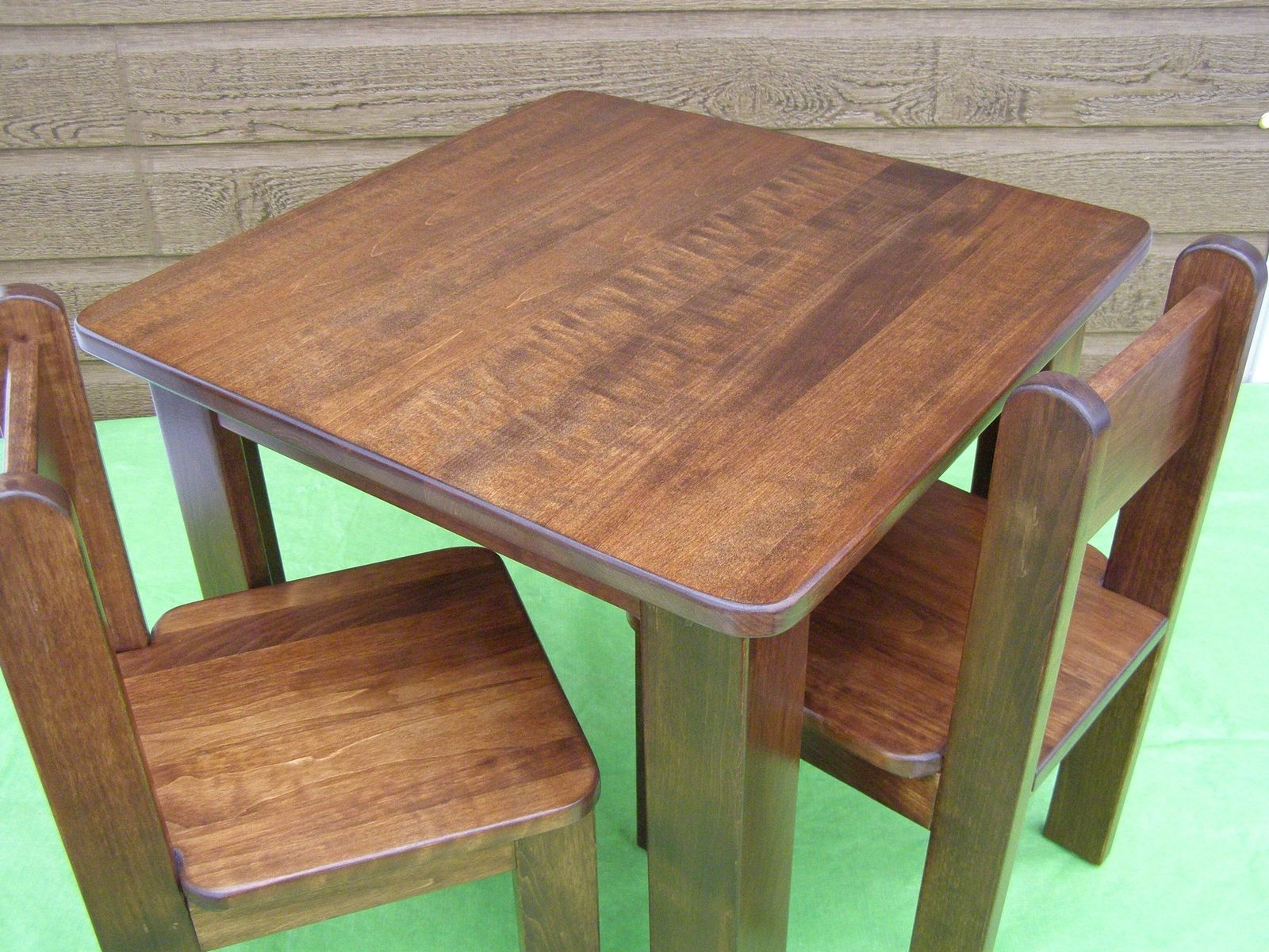 Hand Crafted Table And Chairs For Children by Atelier Unik-Art ...
