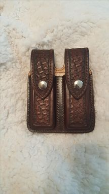 Custom Made Handcrafted Tooled Duty Rigs/Holster