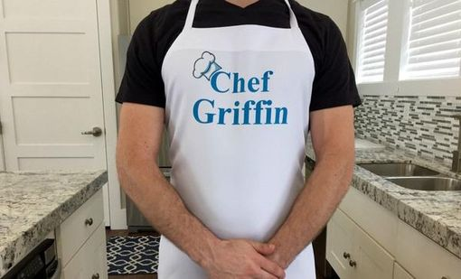 Custom Made Personalized Grillin Aprons