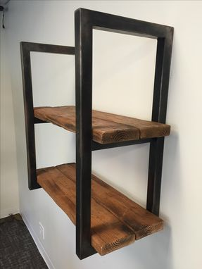 Custom Made #23 Reclaimed Wood Shelves