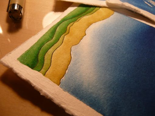 Custom Made Mappettes: custom topographic maps in miniature