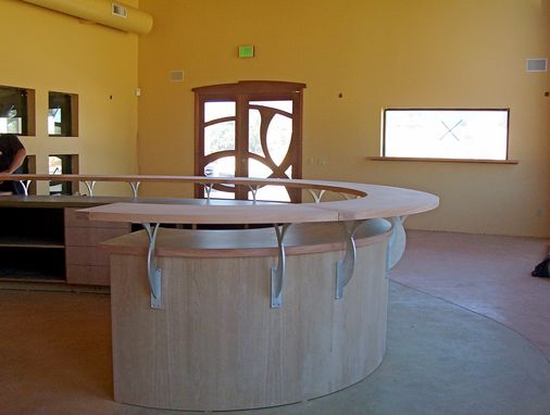Custom Made Wine Tasting Bar And Entry