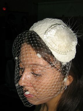 Custom Made Bird Cage Headpiece