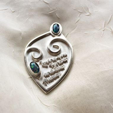 Custom Made Love You Forever Mourning Pendent