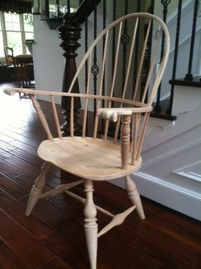 Custom Made Rollback Winsdor Chair