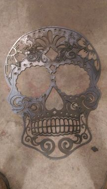 "Custom Made 33x43"" Sugar Skull"