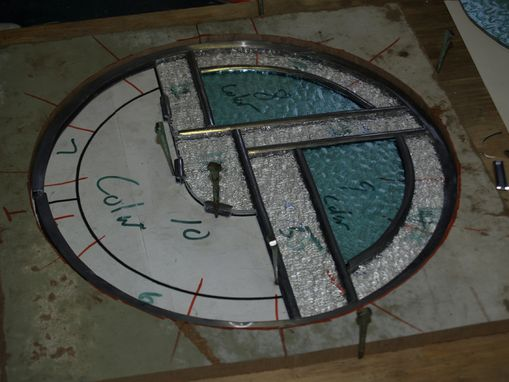 Custom Made Stained Glass Logo