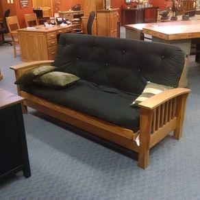 Mission Futon W Mattress By Walnut Creek Furniture