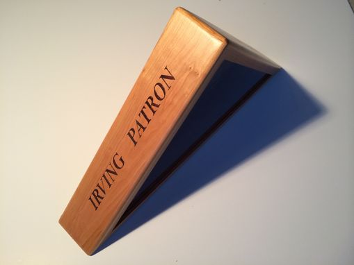 Custom Made Custom Wooden Flag Boxes