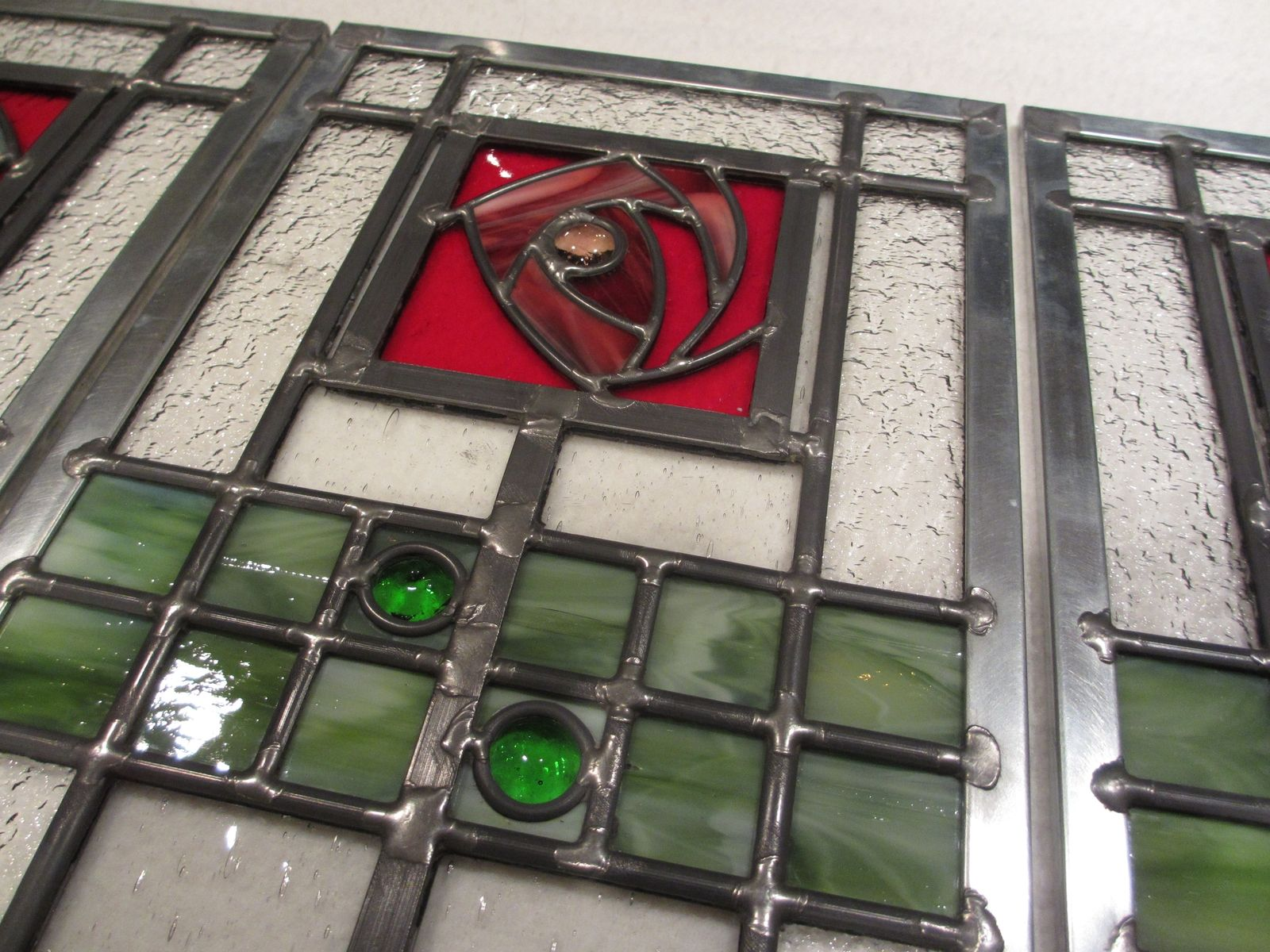 Doors Design: Handmade Cabinet Door Inserts By Alexander Art Glass