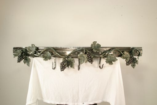 Custom Made Custom Grape Vine Pot Rack