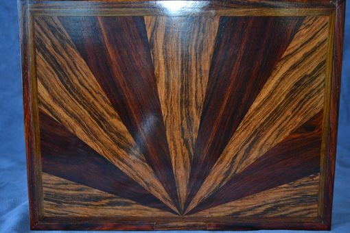 Custom Made Jewelry/Keepsake Boxes Of Cocobolo And Brazilian Rosewood