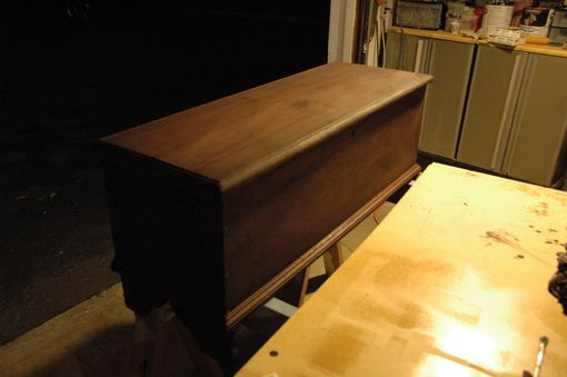 Custom Made Antique Blanket Chest Restoration