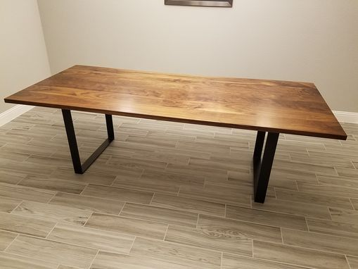 Custom Made Walnut Dining/Conference Table