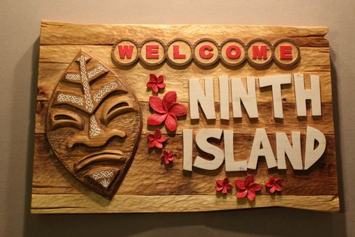 Custom Made Tiki Bar Signs | Home Bar Signs | Bar Signs | Tavern Signs | Restaurant Signs | Home Signs