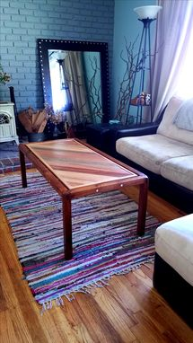 "Custom Made ""Empty Space"" Coffee Table"