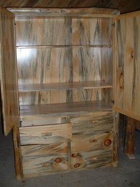 Custom Made Rustic Armoire