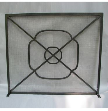 Custom Made Fireplace Screen
