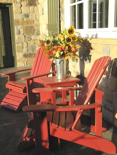 Hand Made Adirondack Chairs By Garden Furniture Mill Custommade Com