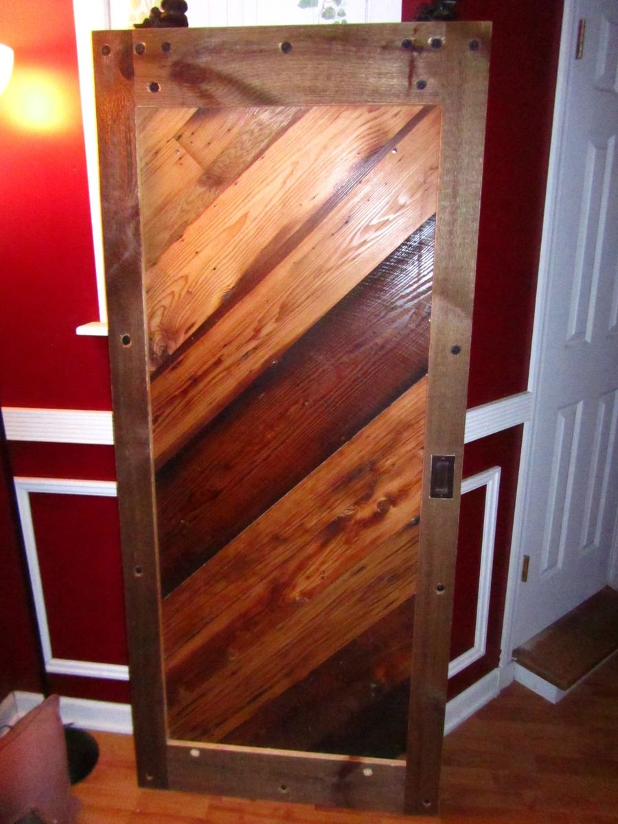 Handmade reclaimed wood interior barn doors by northeast - Reclaimed wood interior barn doors ...