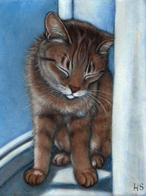 Custom Made Commission An 8x10 Oil Painting Of Your Favorite Feline