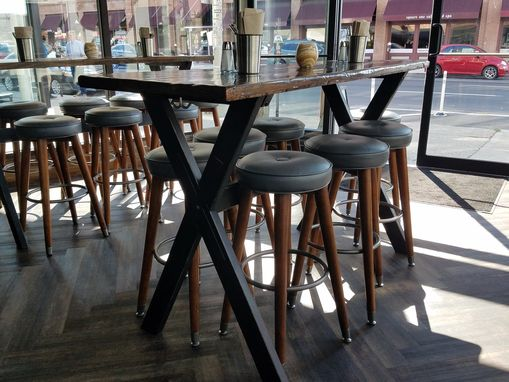 Custom Made Rustic Restaurant Tables